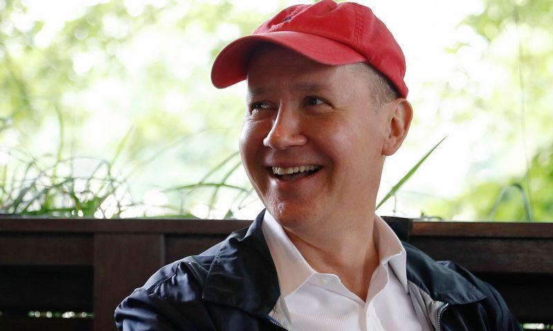 """Valerijus Cepkala. Jevgenijos Novoženinos (""""Reuters"""" / """"Scanpix"""") nuotr."""