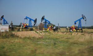 Rusija naftos gavybą šiemet sumažino 6,5%, eksportą – 7%