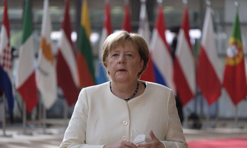 "Angela Merkel, Vokietijos kanclerė. (""Zuma Press"" / ""Scanpix"") nuotr."