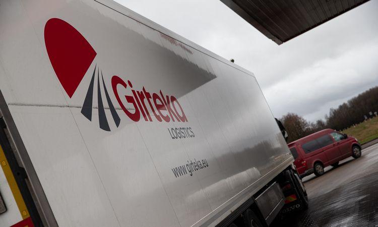 """Didžiausių transporto įmonių dešimtuke – penkios """"Girtekos"""" grupės bendrovės"""