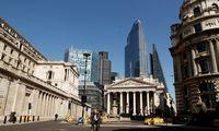 Anglijos centrinis bankas nepakeitė palūkanų
