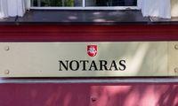 Notarai: Registrų centre stringaNT sandorių sistema