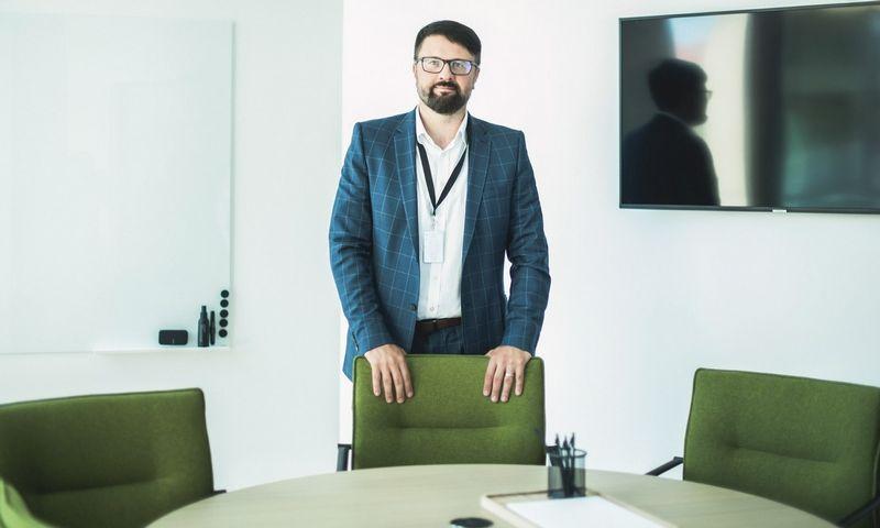 """Sorainen"" Lietuvos biuro vadovaujantis partneris Tomas Kontautas."