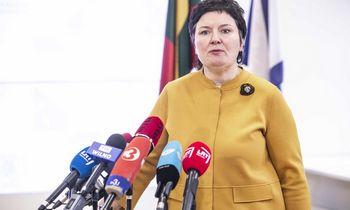 Darbą paliekantiSAM viceministrė: mano sąžinė rami