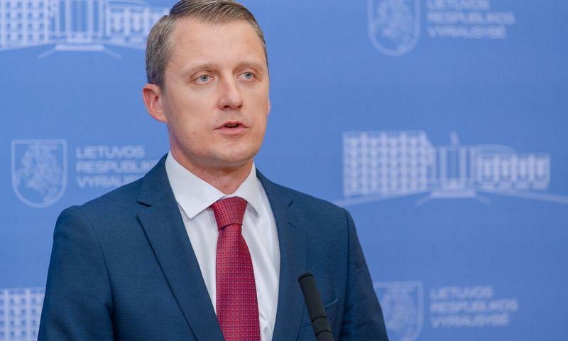 Žygimantas Vaičiūnas, energetikos ministras. Dariaus Janučio (LRVK) nuotr.
