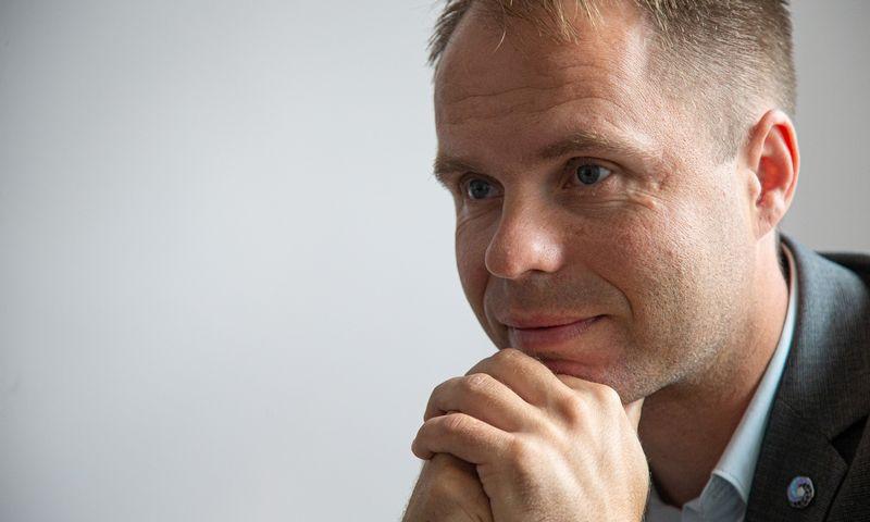 Kęstutis Šetkus, naujasis Lietuvos hidrometeorologijos tarnybos vadovas. Vladimiro Ivanovo (VŽ) nuotr.