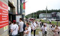 Rinkėjų aktyvumas kai kuriuose balsavimo punktuose Minske viršijo 100%