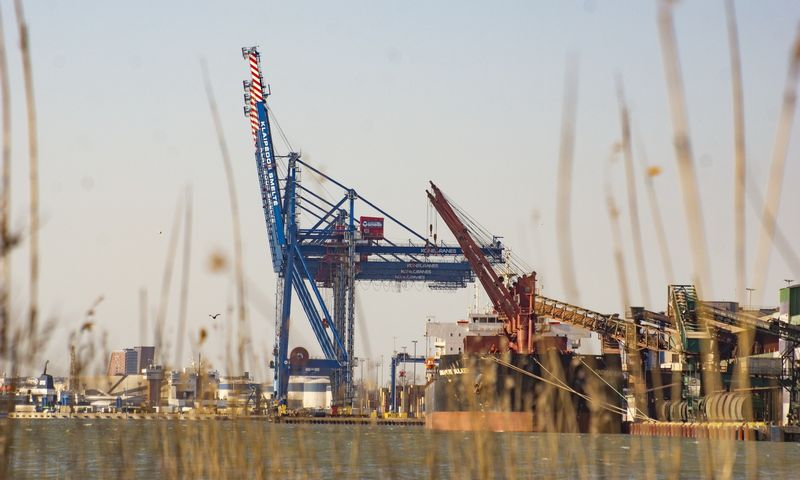 Klaipedos jūrų uostas. Algimanto Kalvaičio nuotr.