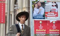 Lietuvoje gyvenantys Baltarusijos piliečiai sekmadienį balsuoja prezidento rinkimuose