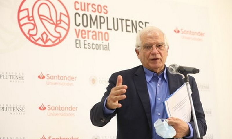 "ES užsienio politikos vadovas Josepas Borrellis. Martos Fernandez Jara / ""Scanpix"" nuotr."