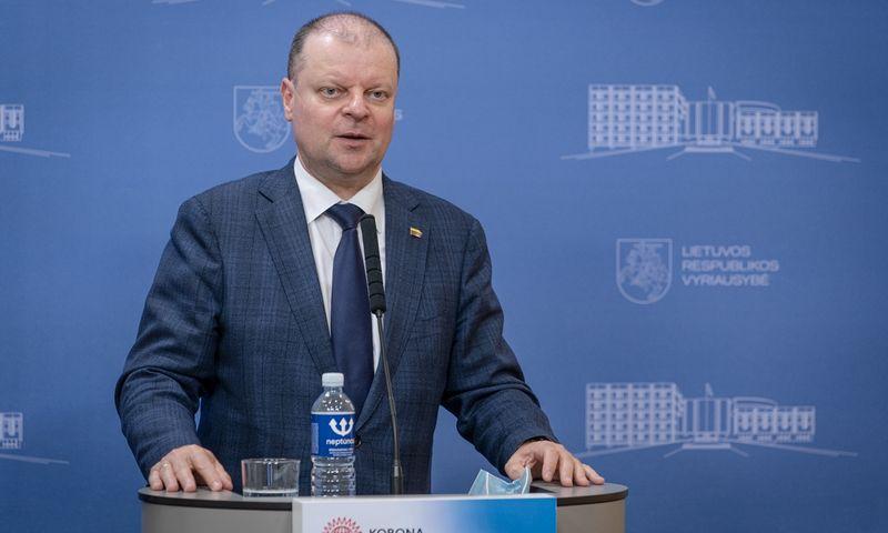 Saulius Skvernelis, ministras pirmininkas. Dariaus Janučio (LRVK) nuotr. Įmonės nuotr.