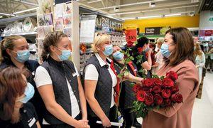 """""""Maxima""""atidarė pirmą parduotuvę Šventojoje"""