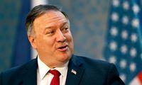 M. Pompeo: JAV svarstys galimybę paskelbti sankcijų Baltarusijai