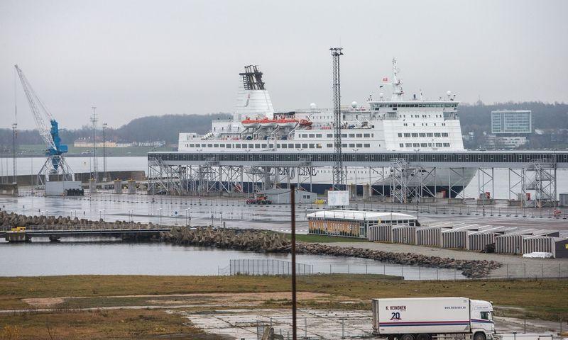 Talino uoste šiemet keleivių srautas smuko 81,7%. Juditos Grigelytės (VŽ) nuotr.