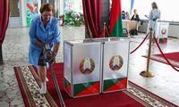"""Baltarusijos URM vadovas: Minskas pasirengęs """"konstruktyviam dialogui"""" dėl rinkimų"""