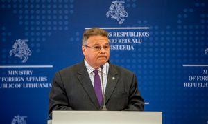 L. Linkevičius siūlys ES įvestisankcijas Baltarusijos pareigūnams