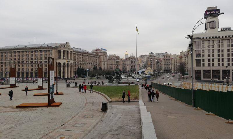 Kijeve per pastarąją parą užfiksuoti 232 nauji COVID-19 atvejai. Pauliaus Čiulados (VŽ) nuotr.