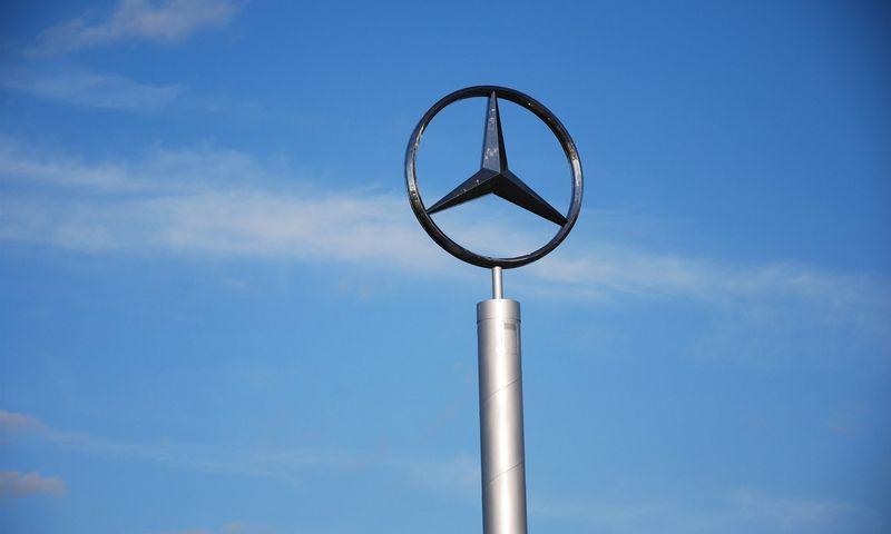 """Koncernas """"Daimler"""" sulaukė sankcijų dėl neteisėtos įrangos naudojimo. Mildos Ancevičės nuotr."""