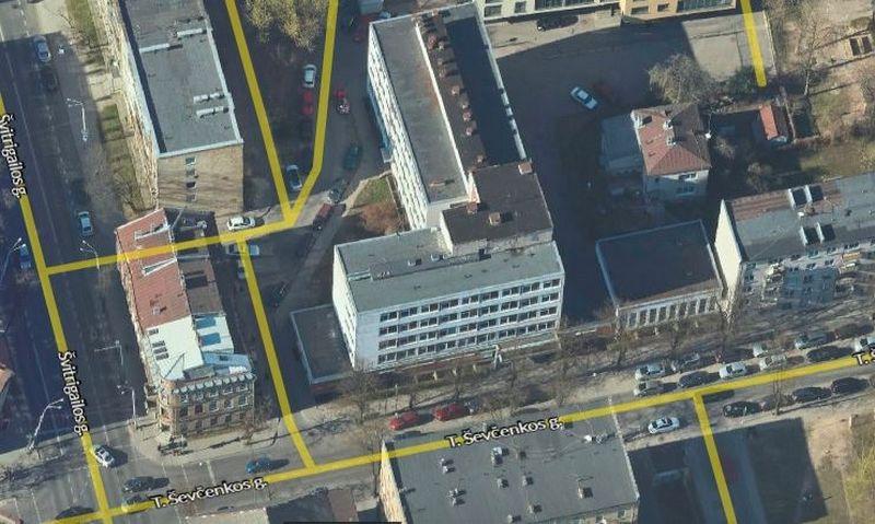 "T. Ševčenkos g. 13. ""4D Vilnius"" nuotr."
