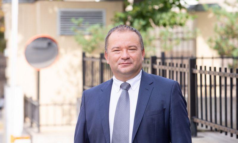 Remigijus Lipkevičius, Lietuvos automobilių kelių direkcijos direktorius. Juditos Grigelytės (VŽ) nuotr.
