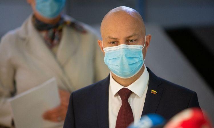 Aurelijus Veryga, Sveikatos apsaugos ministras. Vladimiro Ivanovo (VŽ) nuotr.
