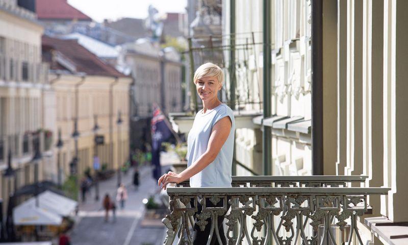 """Asta Sakalauskaitė, """"Philip Morris Baltic"""" žmonių ir kultūros vadovė Baltijos šalims. Juditos Grigelytės (VŽ) nuotr."""