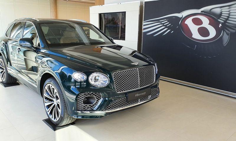 """Naujasis """"Bentley Bentayga"""". Lino Butkaus (VŽ) nuotr."""