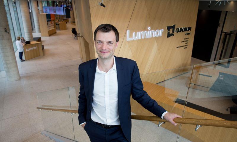 """Andrius Načajus, banko """"Luminor"""" vadovas Lietuvoje. Juditos Grigelytės (VŽ) nuotr."""