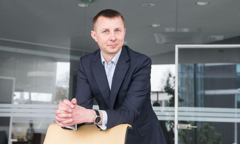 """Arvydas Jacikevičius,  """"INVL Asset Management"""" portfelių valdytojas. Juditos Grigelytės (VŽ) nuotr."""