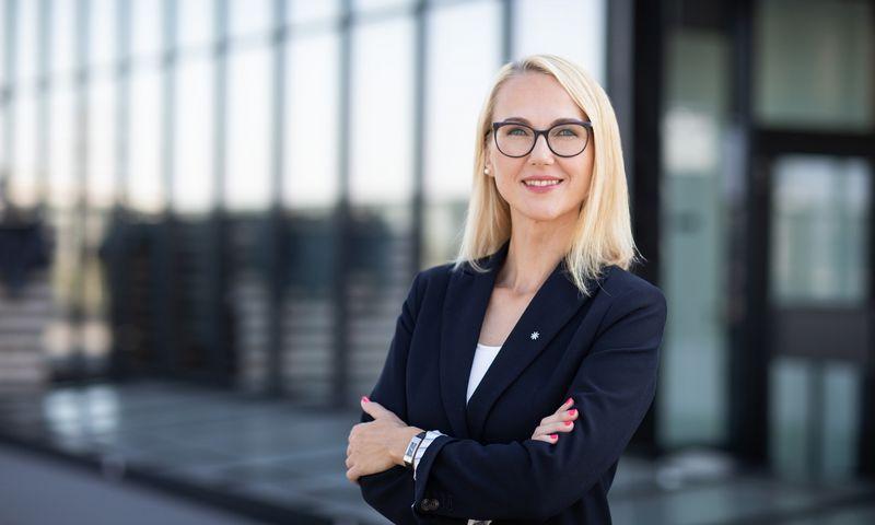 """Odeta Zubrienė, AB """"Litgrid"""" personalo skyriaus vadovė, sako, kad nuotoliniam darbui įmonė buvo pasirengusi iš anksto. Įmonės nuotr."""