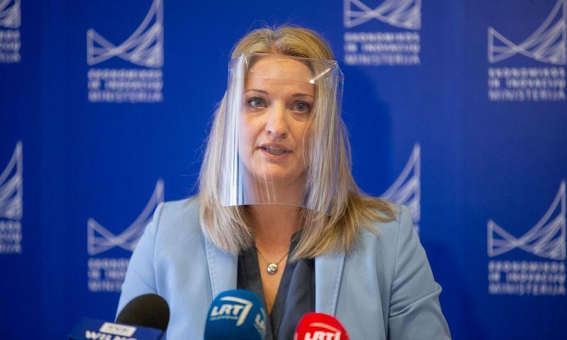Jekaterina Rojaka, ekonomikos ir inovacijų viceministrė.  Juditos Grigelytės (VŽ) nuotr.