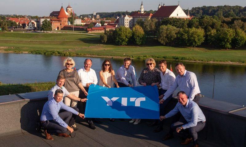 """YIT Lietuva"" vadovų komanda."