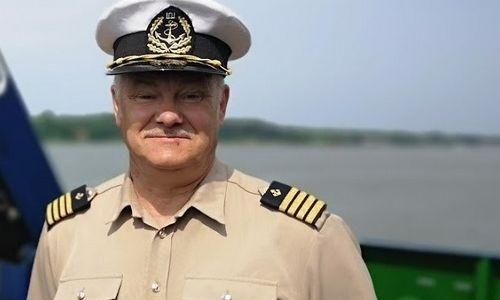 Klaipėdos uosto kapitonasA. Alekna baigė tarnybą
