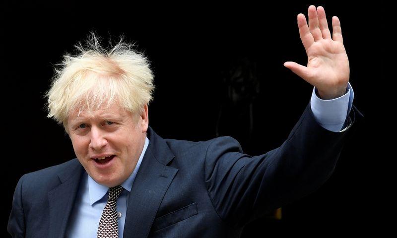 "Borisas Johnsonas, JK premjeras. Toby Melville (""Reuters"" / ""Scanpix"") nuotr."