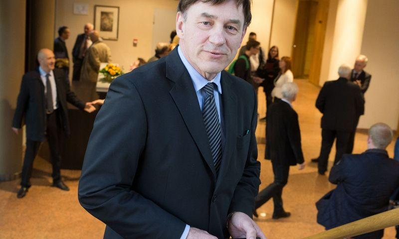 Prof. dr. Juozas Augutis, Vytauto Didžiojo universiteto rektorius. Juditos Grigelytės (VŽ) nuotr.