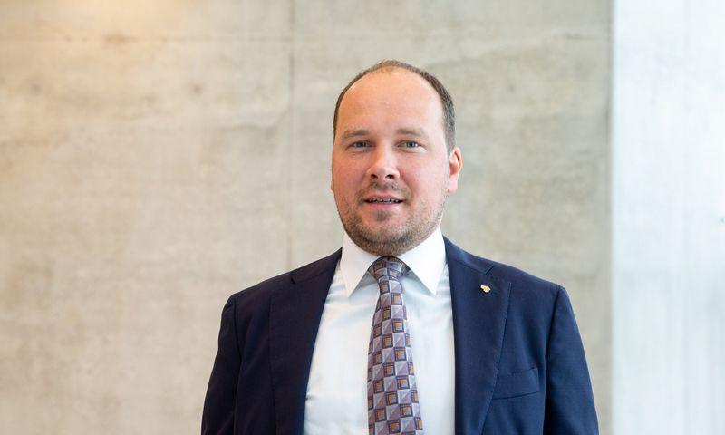 """Žygimantas Mauricas, """"Luminor"""" vyriausiasis ekonomistas.Juditos Grigelytės (VŽ) nuotr."""