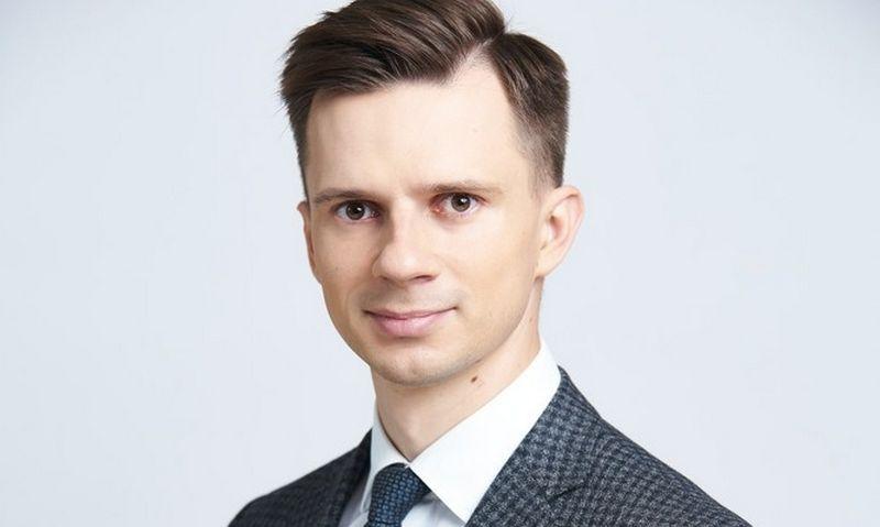 """Verslo advokatų kontoros """"Motieka ir Audzevičius"""" advokatas Valentas Mitrauskas."""