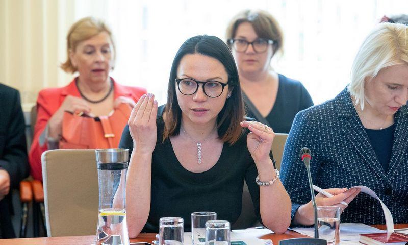Eglė Radišauskienė, Socialinės apsaugos ir darbo viceministrė. Juditos Grigelytės (VŽ) nuotr.
