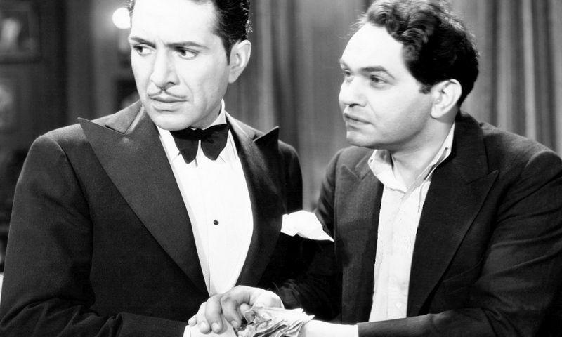 """Kadras iš filmo """"Dvi sekundės"""", 1932 m."""