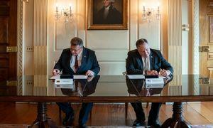 Lietuva su JAV sutarė nuodugniai tikrinti 5G įrangos tiekėjus