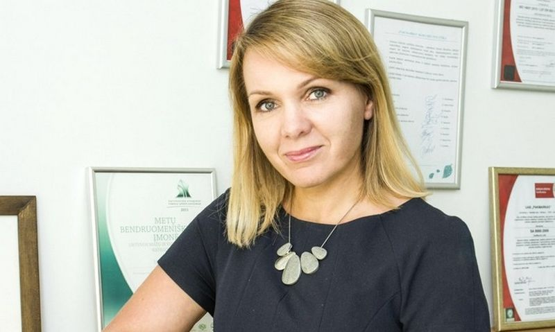 """Jolita Daunorienė, UAB """"PakMarkas"""" Spaudos departamento direktorė"""