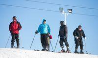 Naujas slidinėjimo sezonas: kaukių reikės ir kalnuose
