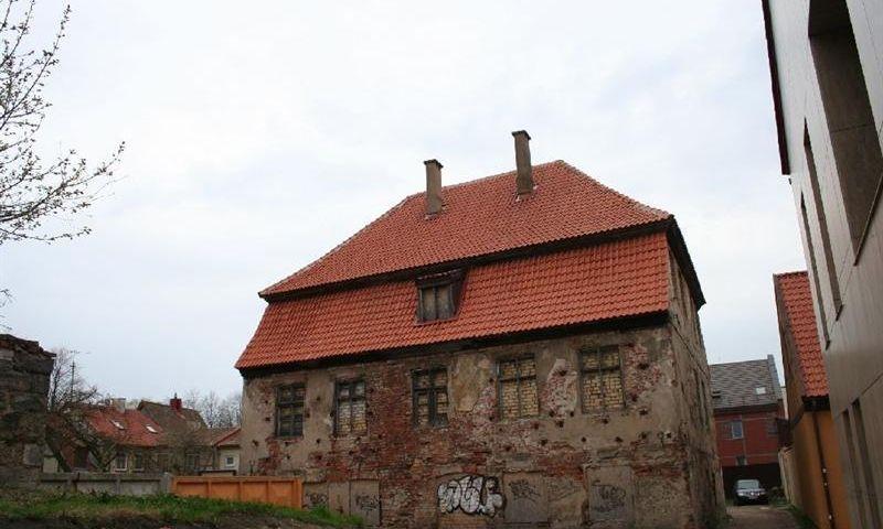 Daržų g. 14 buvęs statinys. Kultūros vertybių registro nuotr.