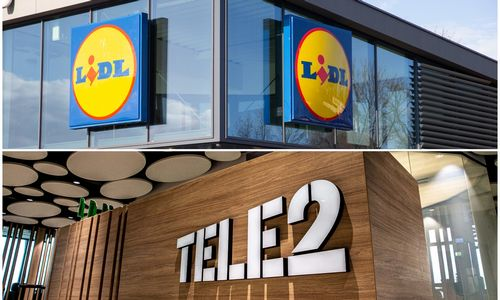 """""""Lidl Lietuva"""" ir """"Tele2"""" apsikeitė vietomis"""