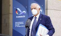 J. Borrellis: ES šalių URM vadovai nesutarė dėl sankcijų Minskui, klausimą svarstys EVT