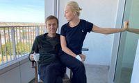 "A. Navalnas sako, kad ""Novičiok"" rasta ant jo kūno ir organizme"