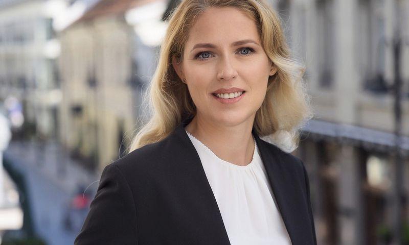 """Besijungiančių advokatų kontorų """"Triniti"""" ir """"Jurex"""" komunikacijos ir rinkodaros vadove pradeda dirbti Rita Saunorytė Norutienė. Bendrovės nuotr."""