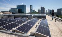 Pradedamos rinkti paraiškos saulės elektrinėms įsirengti ir šildymo katilams keisti
