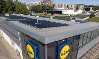"""Saulės energetika:""""Lidl"""" įrengs parduotuvėse, o """"Iki"""" –logistikos sandėlyje"""