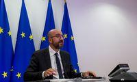 Dėl COVID-19 pavojaus atidedamas ES viršūnių susitikimas